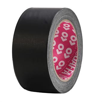 Advance AT205 Matt Black Foil Gaffa Tape